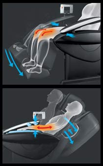 stretch massage chair
