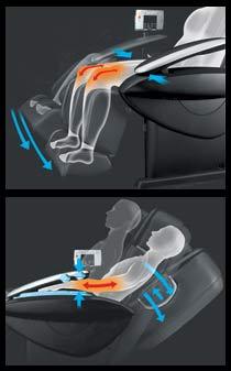stretch massage chair